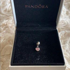 Pandora Heart Enamel Dangle Charm